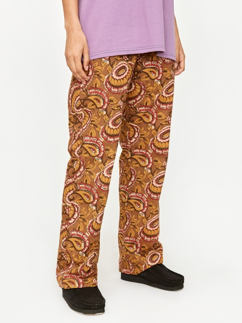 Reversible String Easy Pant - Brown