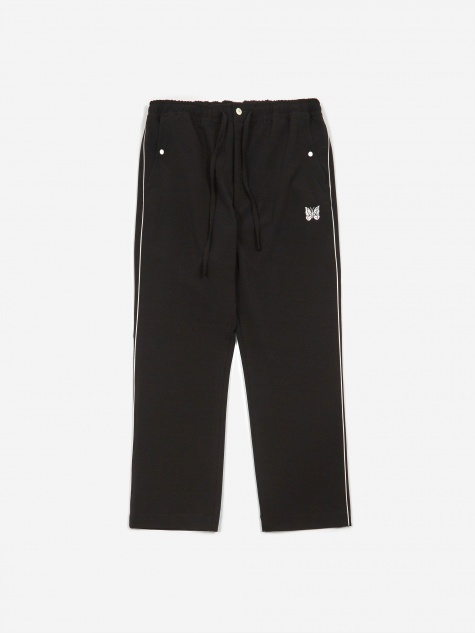 Piping Cowboy Trouser - Black