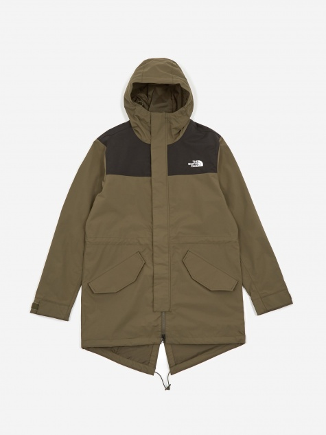 The North Face City Breeze Parka - Olive/Black