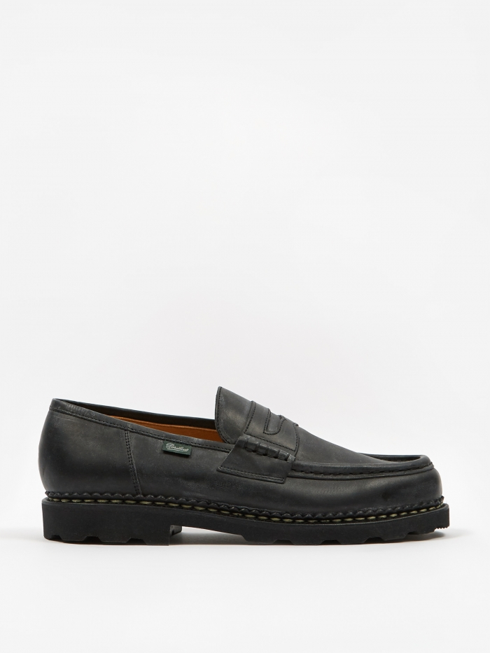 Paraboot Reims Shoe - Black Matte (Image 1)