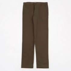 Universal Works Aston Pants - Olive Twill