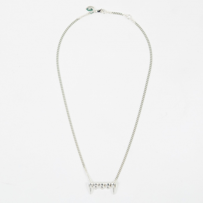 Perks & Mini Original Fang Necklace - Silver (Image 1)