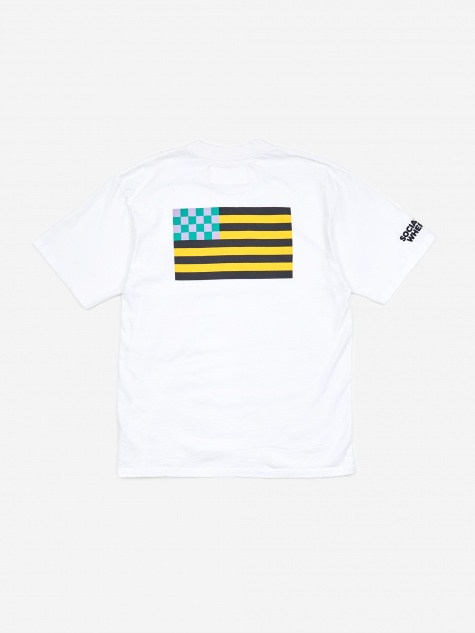 Flag Shortsleeve T-Shirt - White