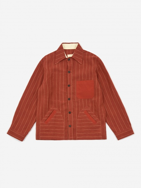 Yussef Shirt Jacket - Red