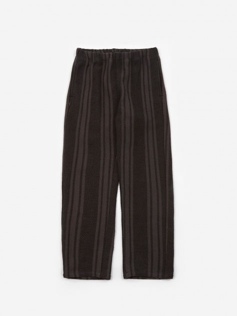 Weaving / C Trouser - Black