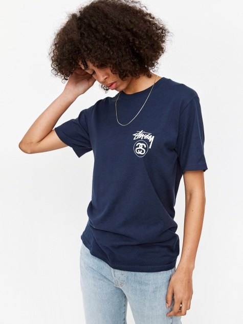 Stock Link T-Shirt - Navy