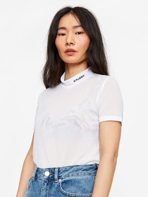 Gazer Mock T-Shirt - White