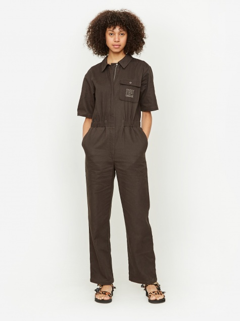 Stussy Work Jumpsuit - Black