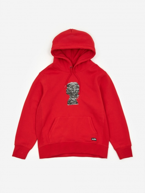 Vault x Jim Goldberg Silhouette Sweatshirt - Racing Red