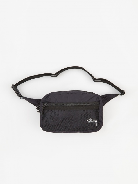 Light Weight Waist Bag - Black