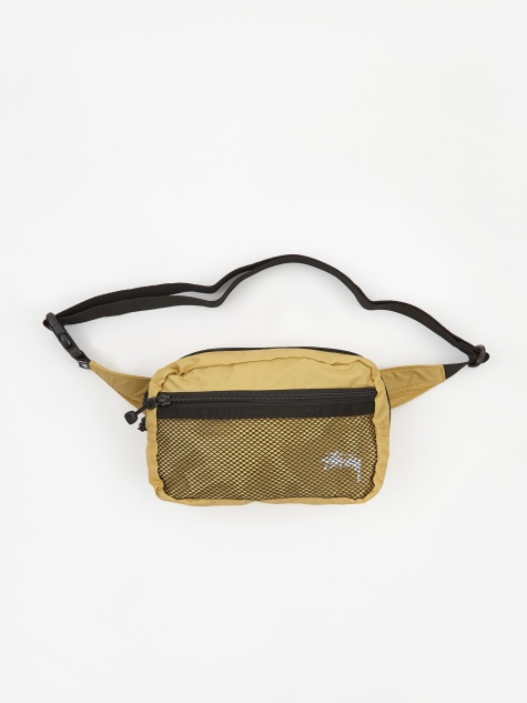Stussy Light Weight Waist Bag - Gold