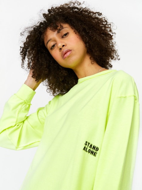 Longsleeve T-Shirt - Neon Yellow