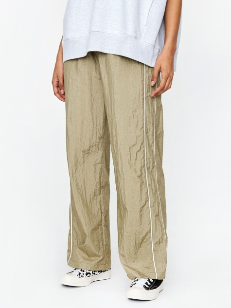Wide Leg Trouser - Gold