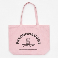 Goods by Goodhood Psychonaught Tote Bag - Pink