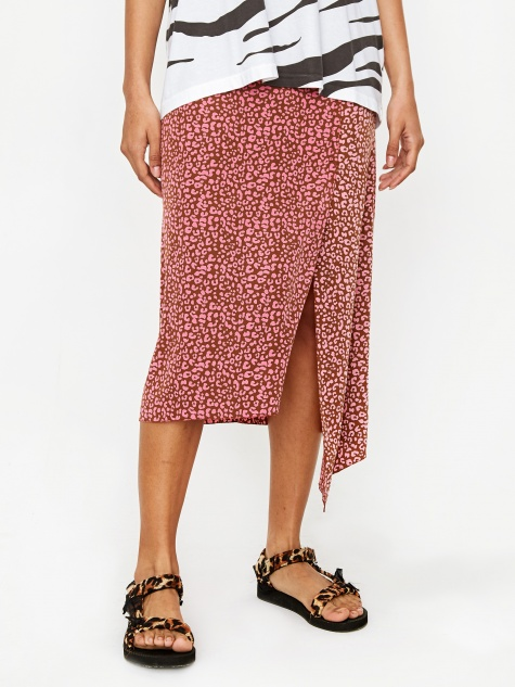 Skirt - Brown/Pink