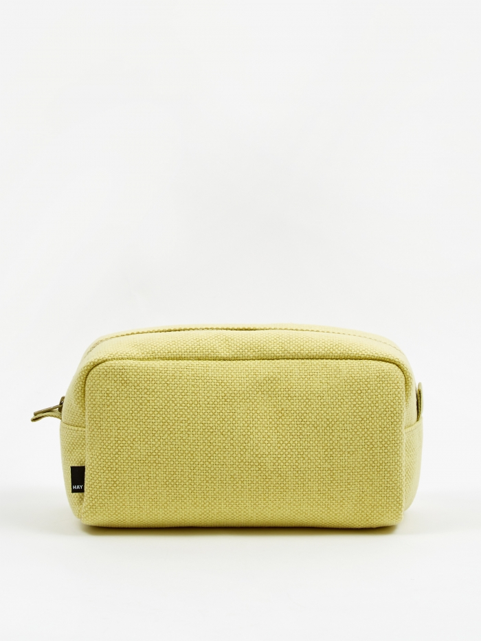 HAY Hue Wash Bag - Yellow (Image 1)