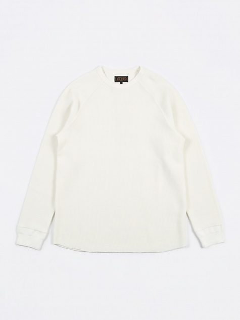 Thermal Crew L/S T-Shirt - White