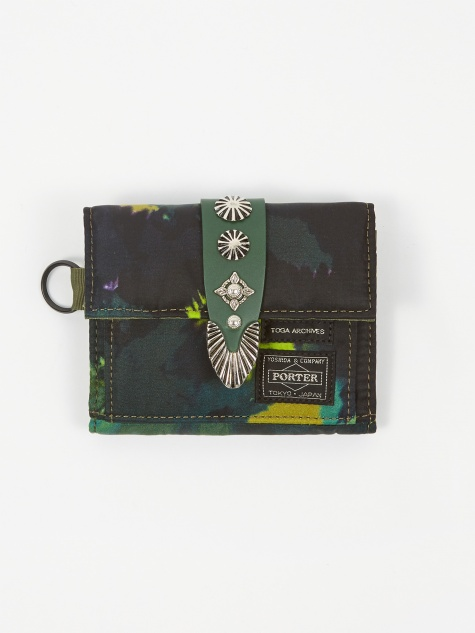 x Porter Shoulder Wallet  - Green