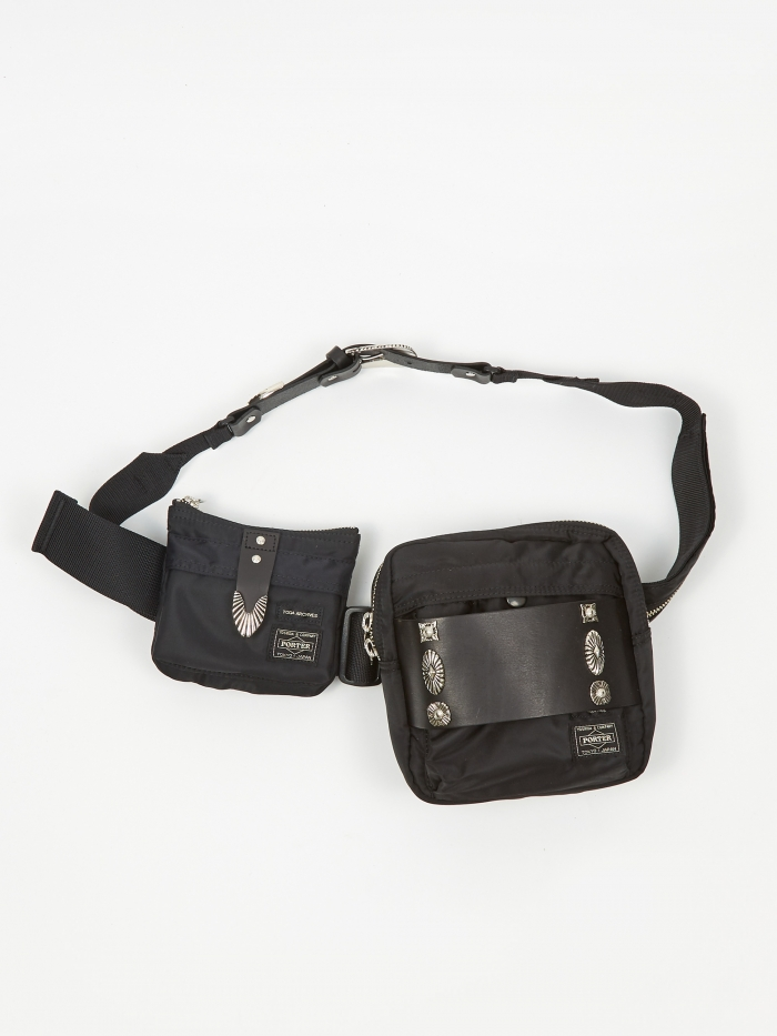 TOGA x Porter Belt Bag  - Black (Image 1)