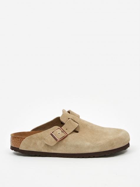 Boston Suede - Taupe