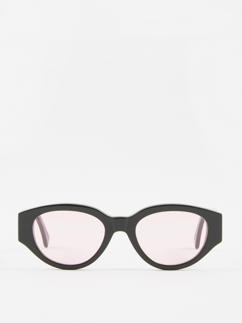 Drew Mama Sunglasses - Black/Pink