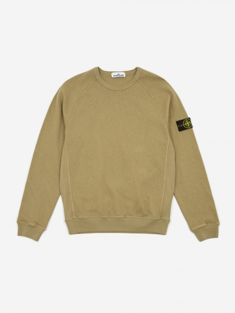 Malfile Fleece Garment Dyed Sweatshirt - Green