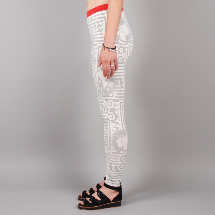 Perks & Mini PAM Puzzled Leggings - Grey (Image 1)