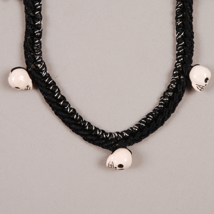 Venessa Arizaga Ashes To Ashes Necklace - Black/ Silver Melanage (Image 1)