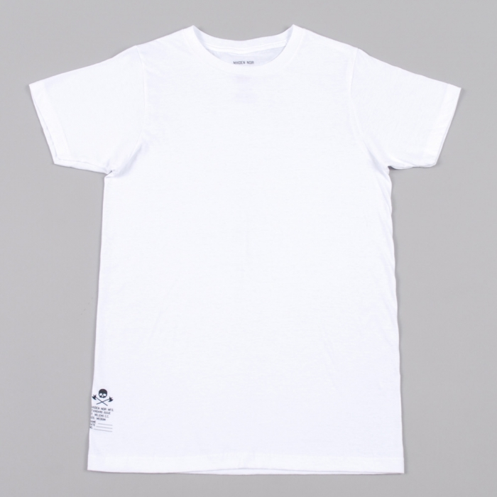 Maiden Noir Standard Issue 3 Pack Tees - White (Image 1)