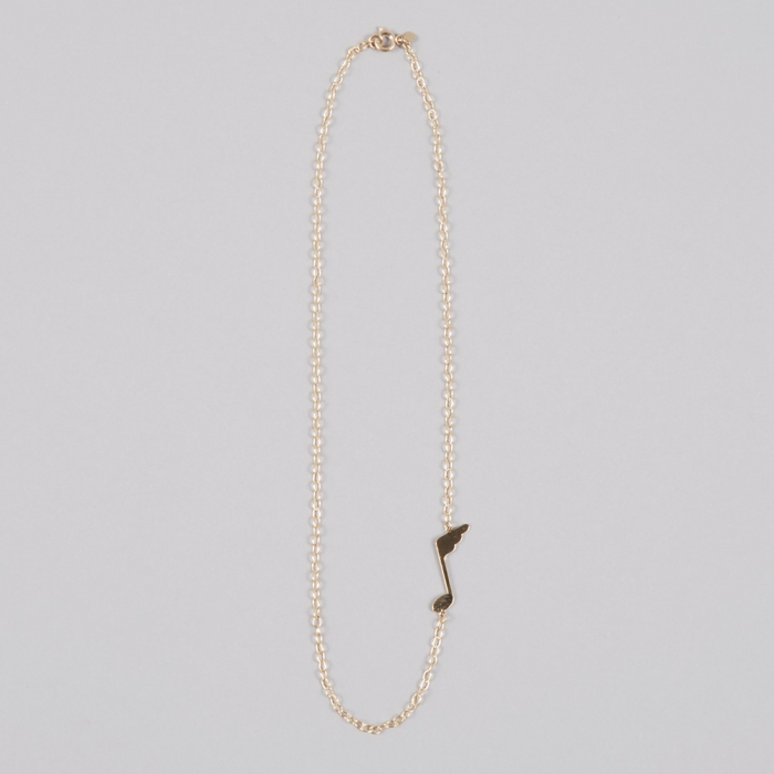 Alpha Beta Do Me - Gold Necklace (Image 1)