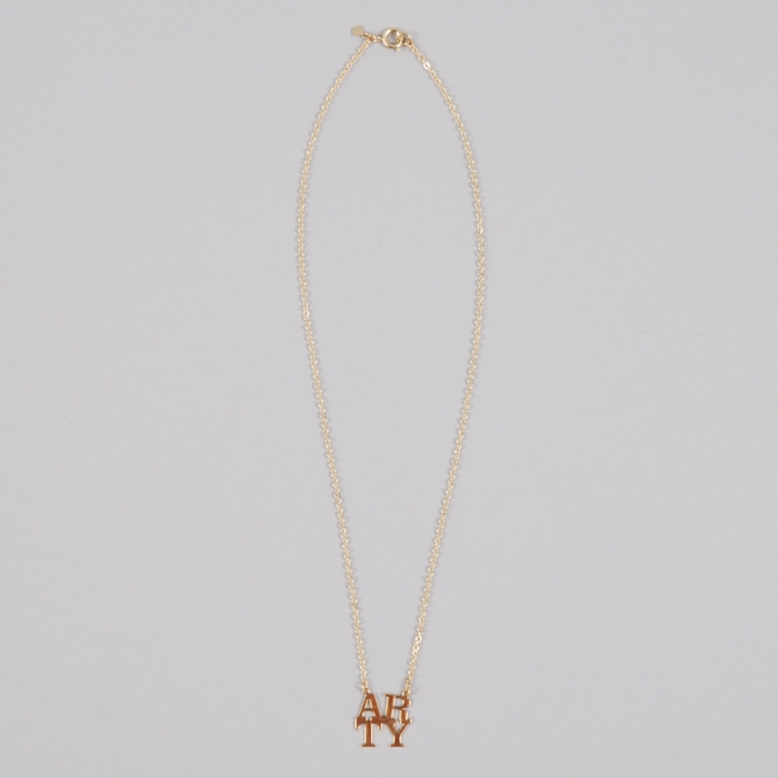 Alpha Beta Arty Me M - Gold Necklace (Image 1)
