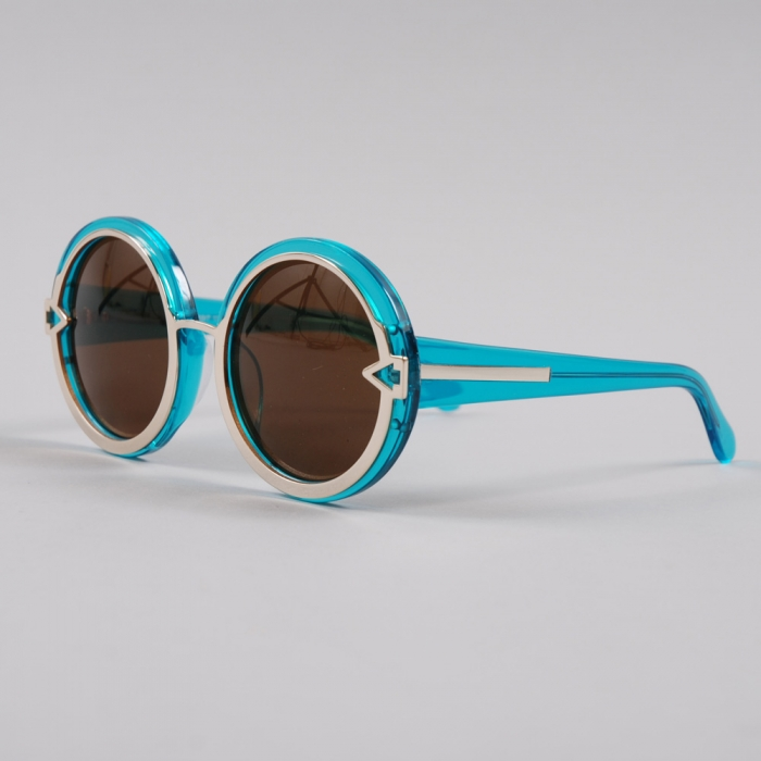 Karen Walker Eyewear Karen Walker Orbit - Crystal Blue (Image 1)
