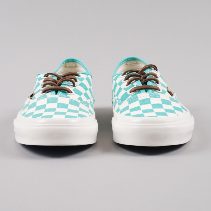 Vans Authentic - Checker Waterfall/White (Image 1)