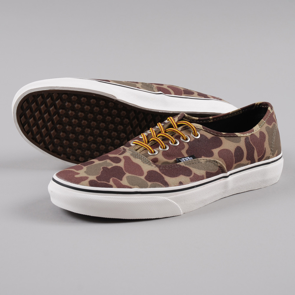 bd1d528112 Vans Authentic - Waxed Camo Marshmallow