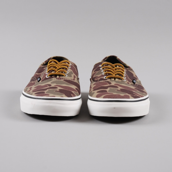 Vans Authentic - Waxed Camo/Marshmallow (Image 1)
