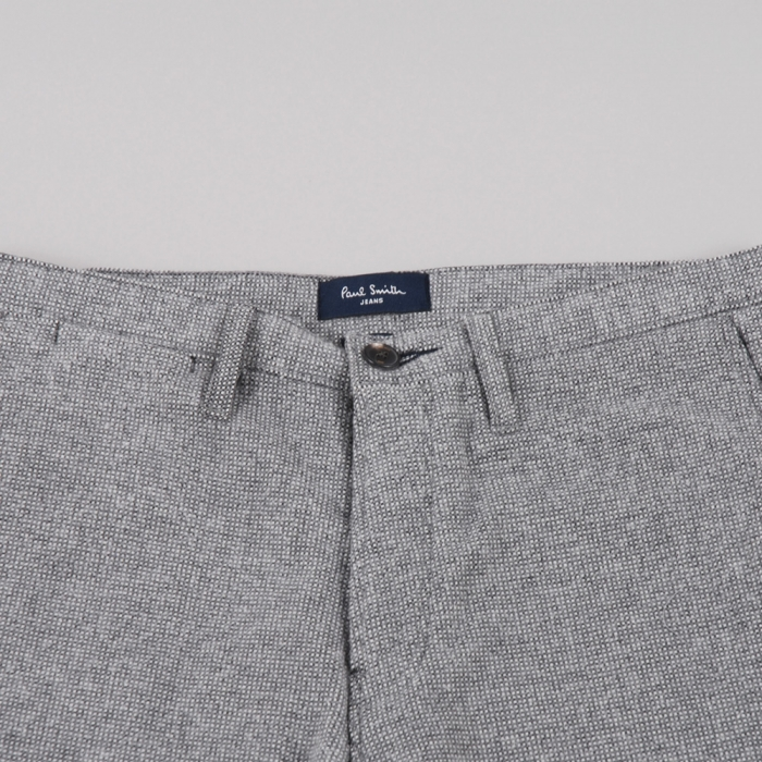 Paul Smith Slim Leg Wool Trouser - Light Grey (Image 1)