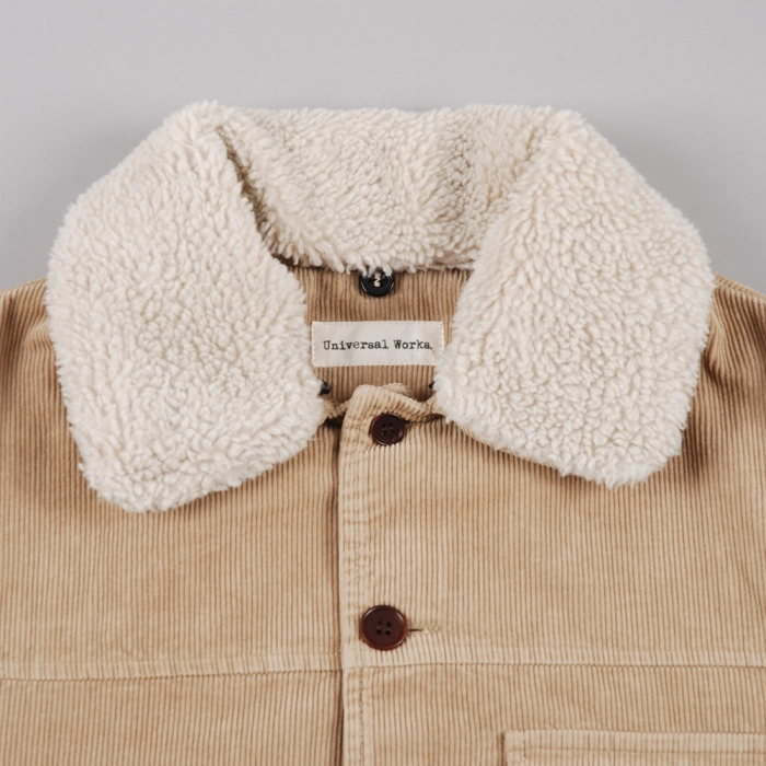 Universal Works Crofter Jacket - Fawn (Image 1)