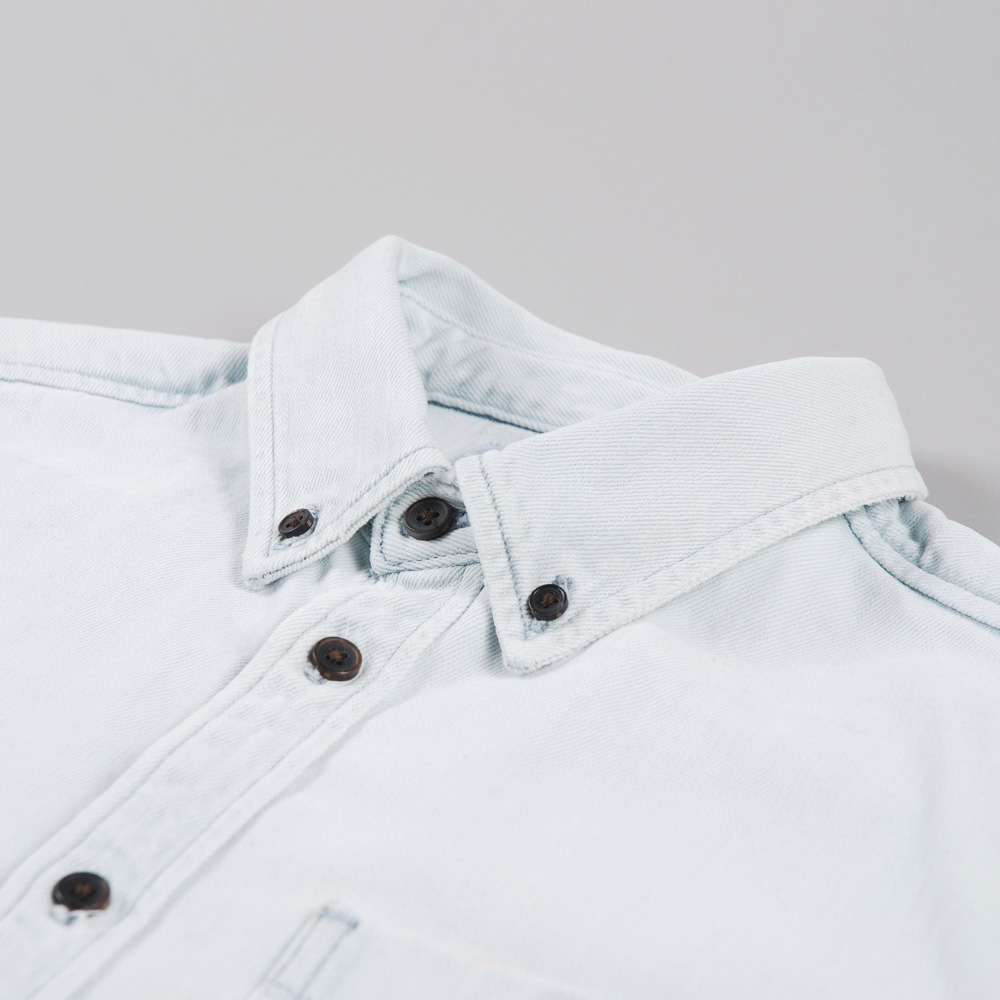 be97e09df5 Norse Projects Anton Denim Shirt - Bleached