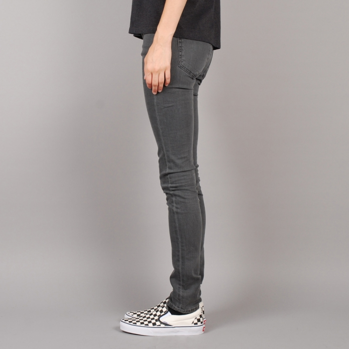 Surface To Air Regular Super Skinny Denim - Bleached Grey (Image 1)
