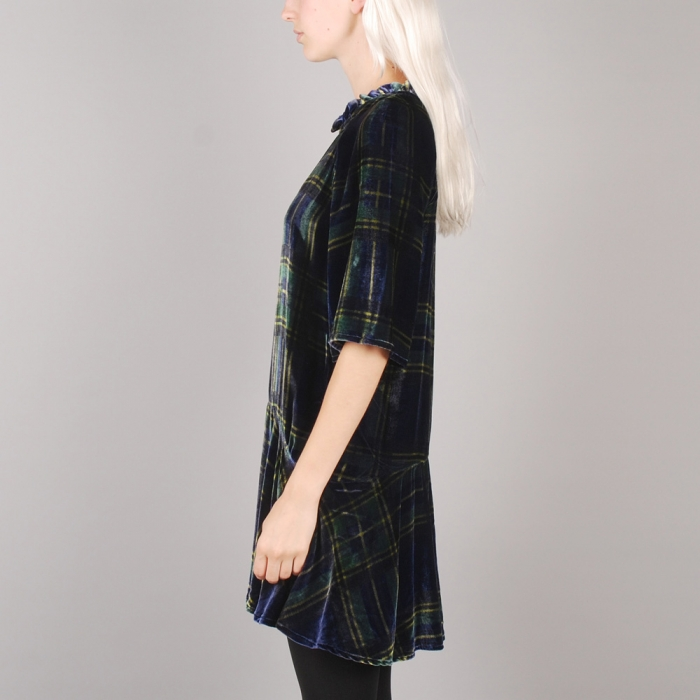 Lonely Hearts Drop Waist - Plaid (Image 1)