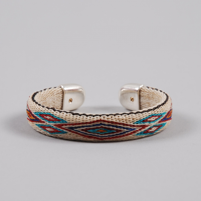 Chamula Bendable Bracelet - Cream (Image 1)