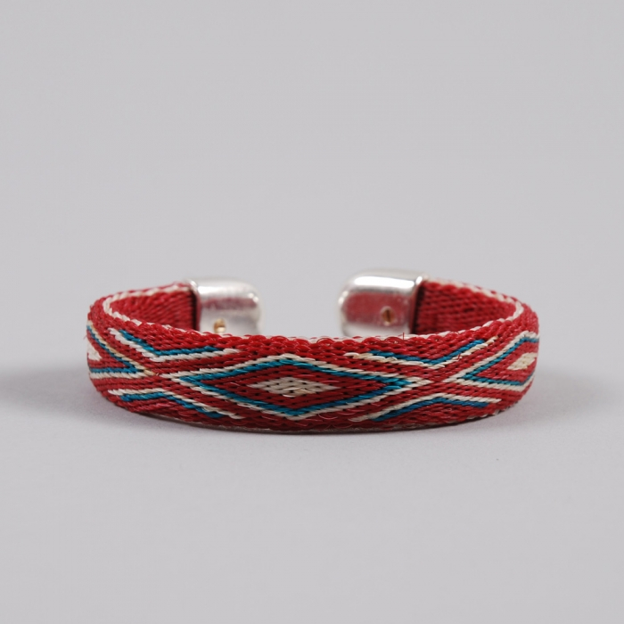Chamula Bendable Bracelet - Red (Image 1)