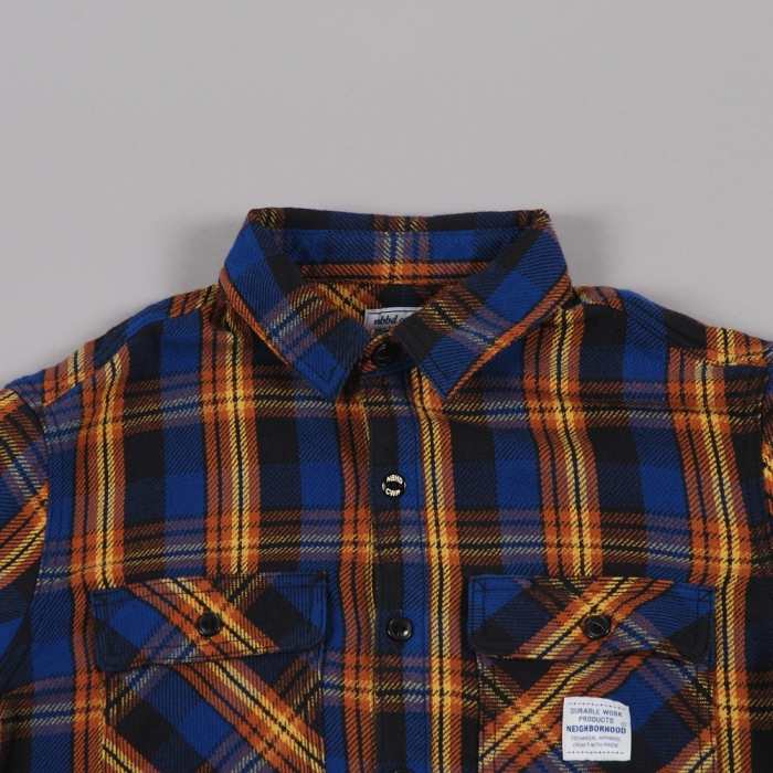 Neighborhood Cabella Shirt - Blue (Image 1)