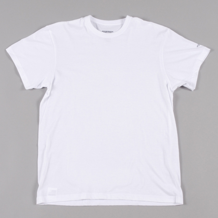 Neighborhood Classic 3 Pack S/S Crew - White (Image 1)