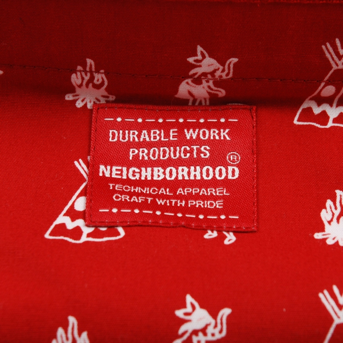 Neighborhood Tipi Tissue Cover - Red (Image 1)