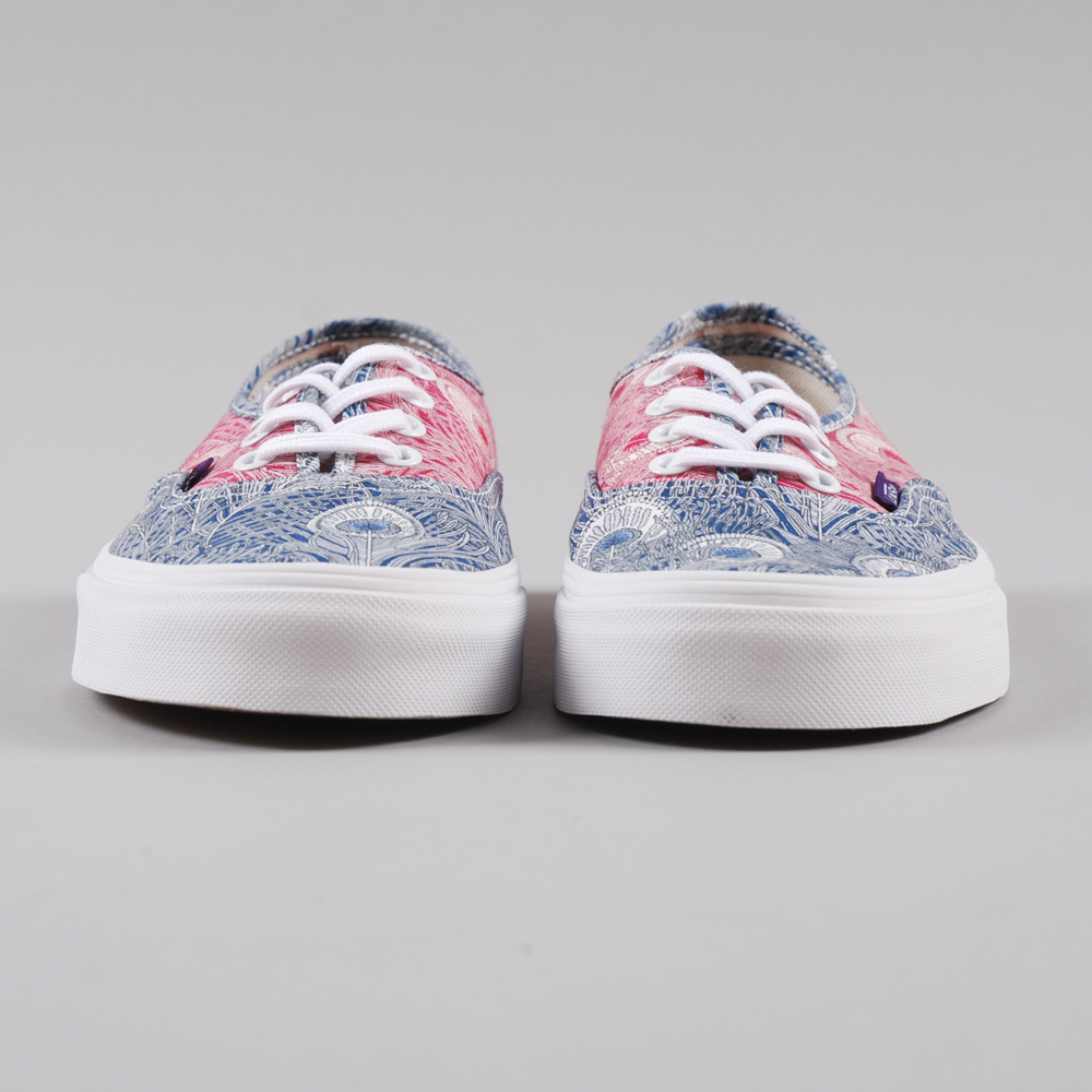 8990ced360 Vans Authentic Liberty - Peacock True White (Image 1)