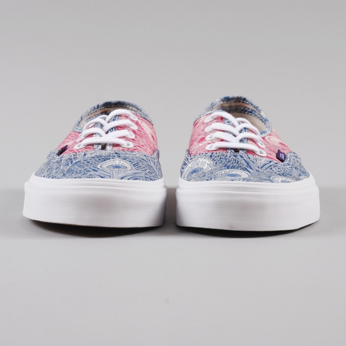 Vans Authentic Liberty - Peacock True White (Image 1)