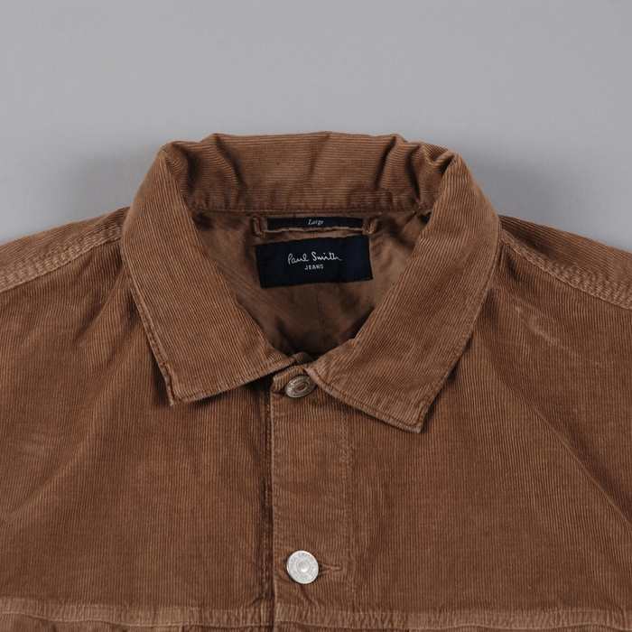 Paul Smith Cord Western Jacket - Brown (Image 1)