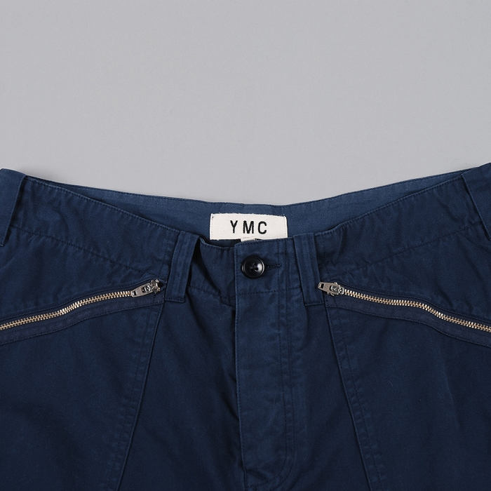 YMC Punk Shorts - Navy (Image 1)
