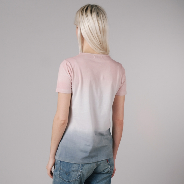 YMC Spray T-Shirt - Pale Blush (Image 1)